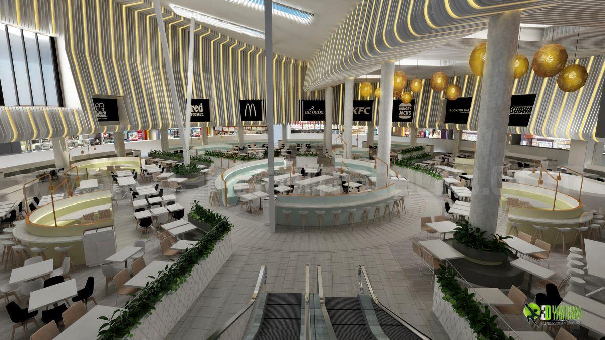 3D Modern Interior Shopping ma....
