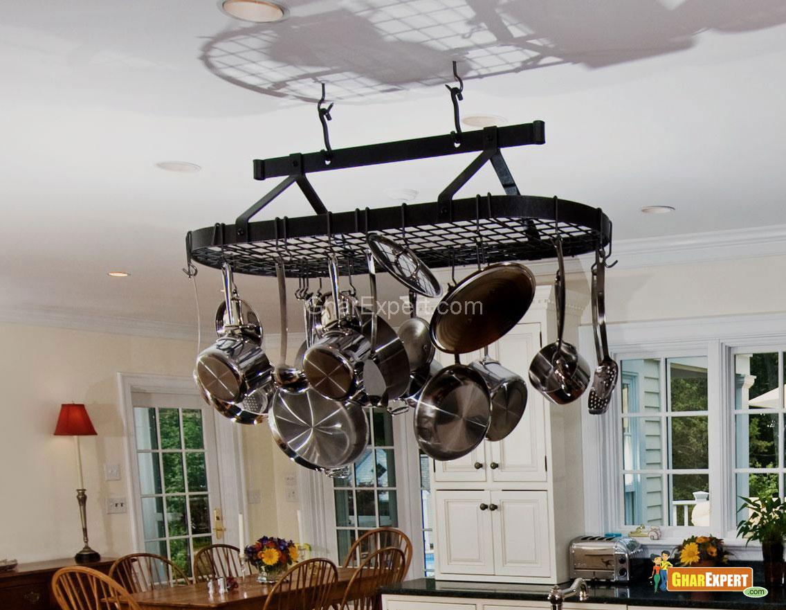 Kitchen Hanging Storage Rack