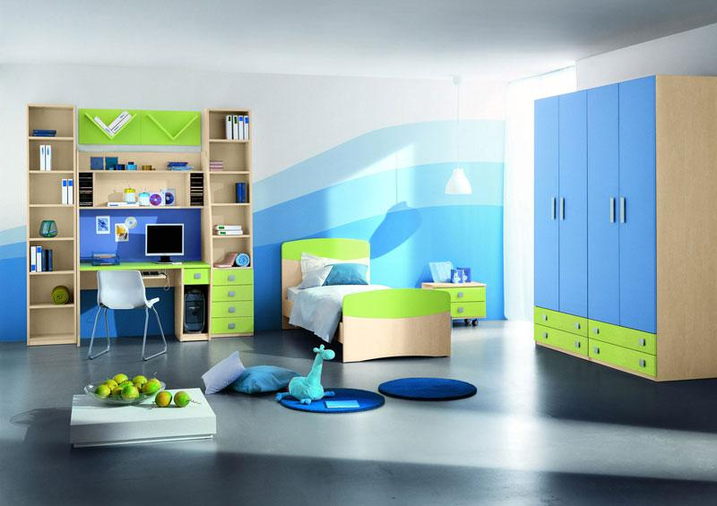 Colorful Design for Kids Room