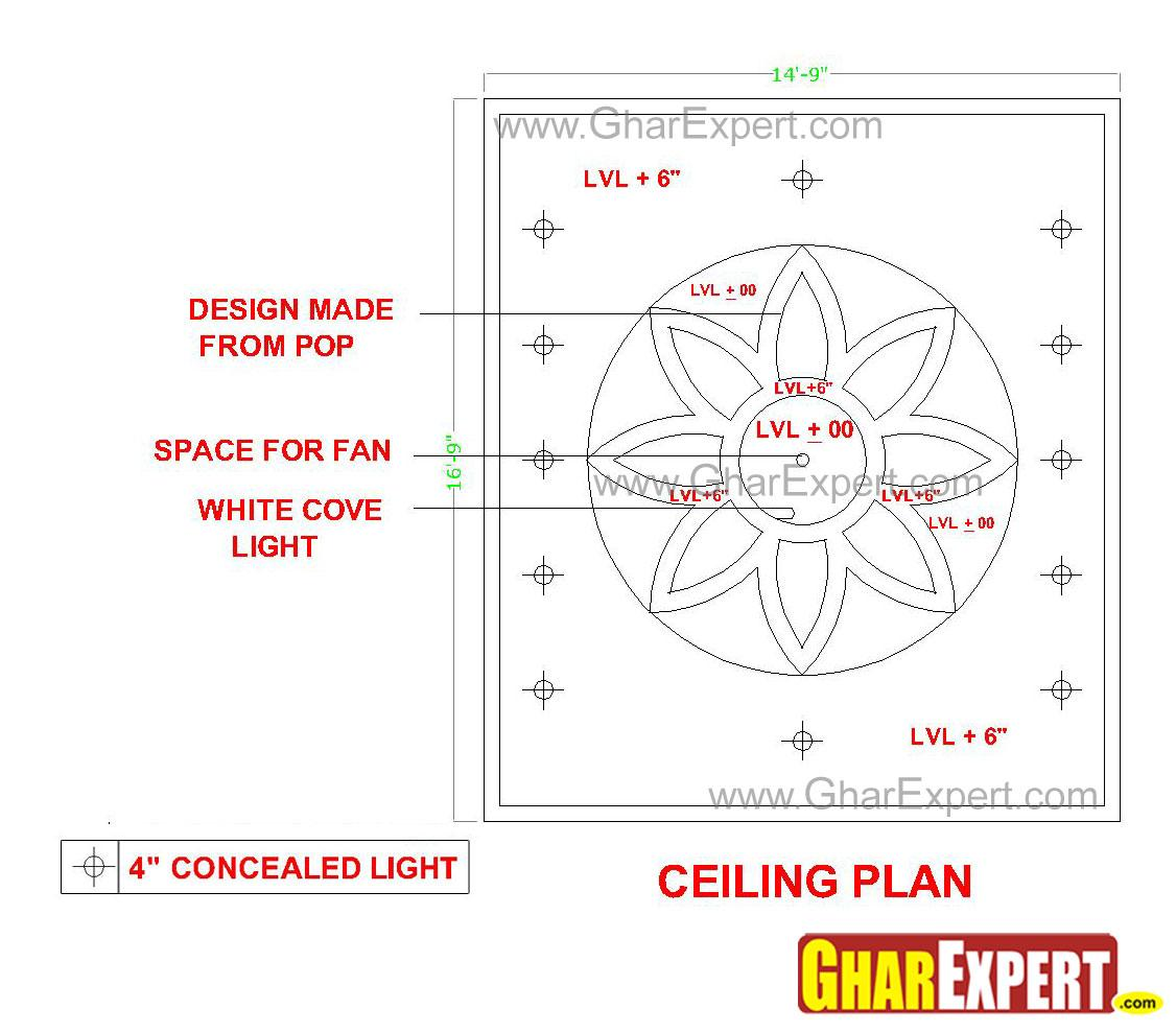 POP false ceiling light with cove lighting GharExpert : 123201345020 from www.gharexpert.com size 1126 x 988 jpeg 108kB