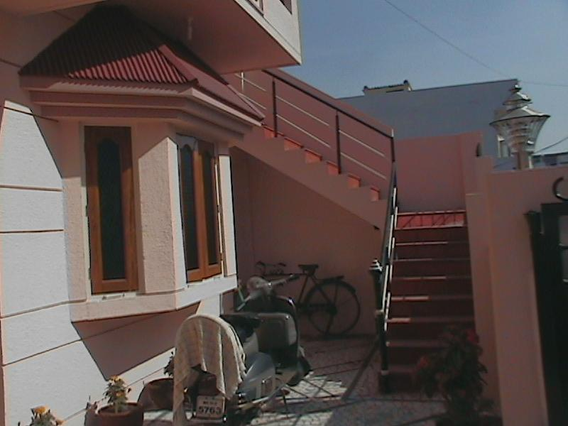 External Stairs and Bay Window