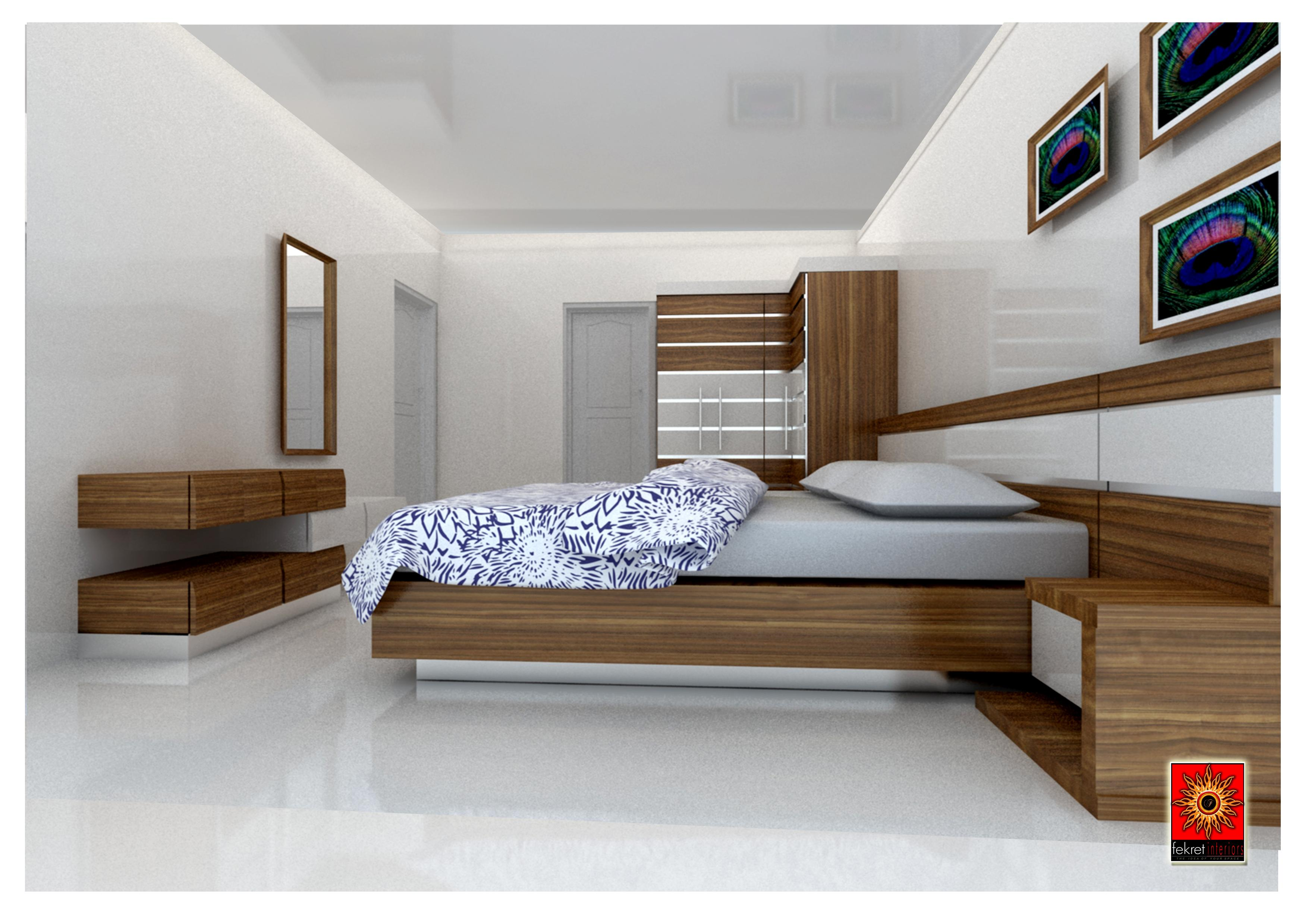 Simple bedroom furniture - Simple Bedroom Interior Gharexpert