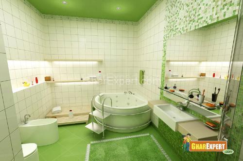 Green Bthroom