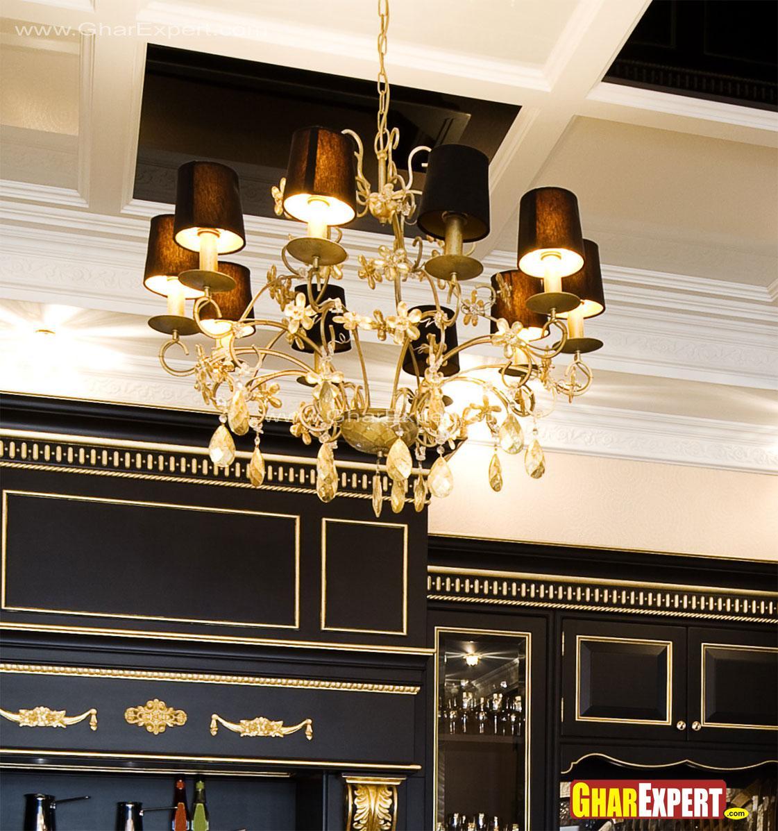 Kitchen lighting chandelier wi....