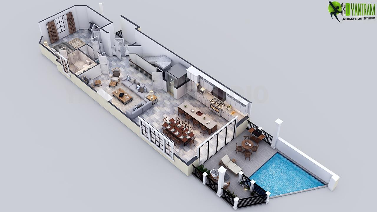 3D Luxury Floor Plan Design Re....