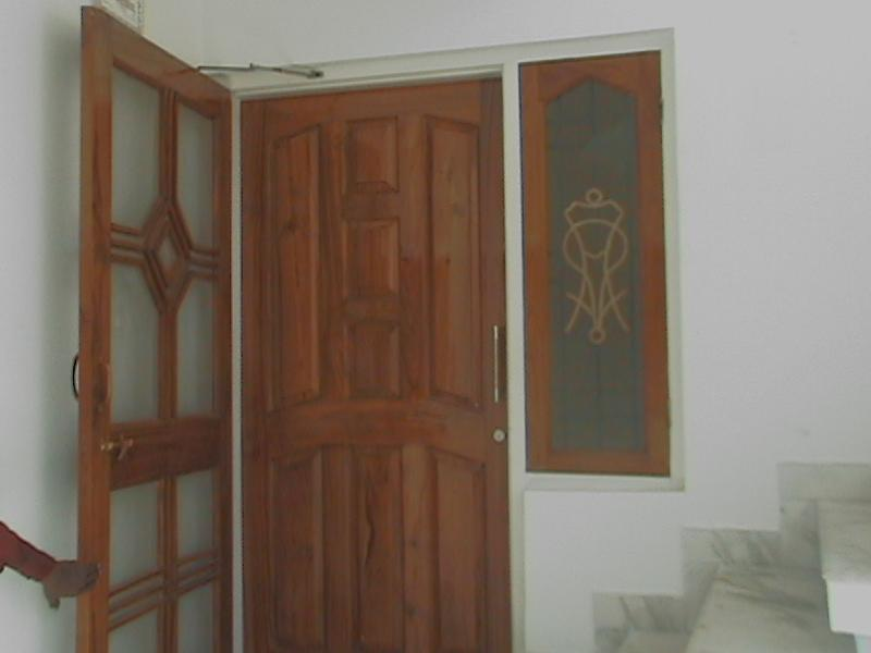Teak wood  composite panel doo....