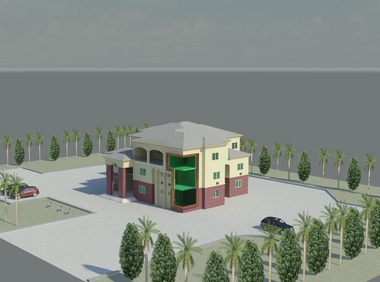 50X100 3 storey house with 8 r....