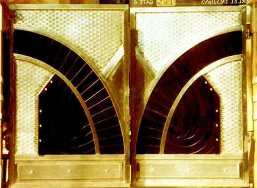 crafted metal gate design