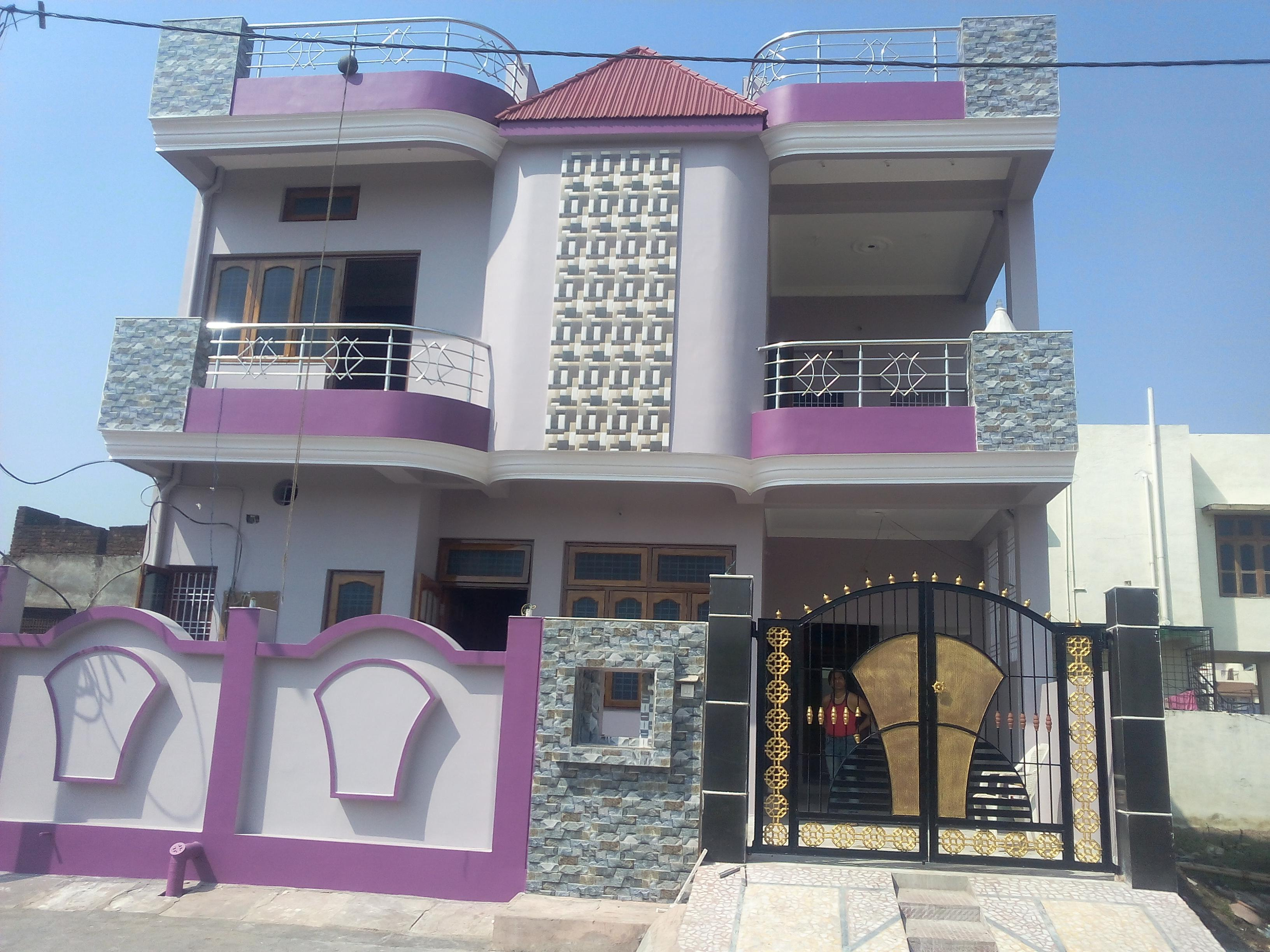 30 Feet Front Elevation : Residential villas vijayanagar mysore one of feet front