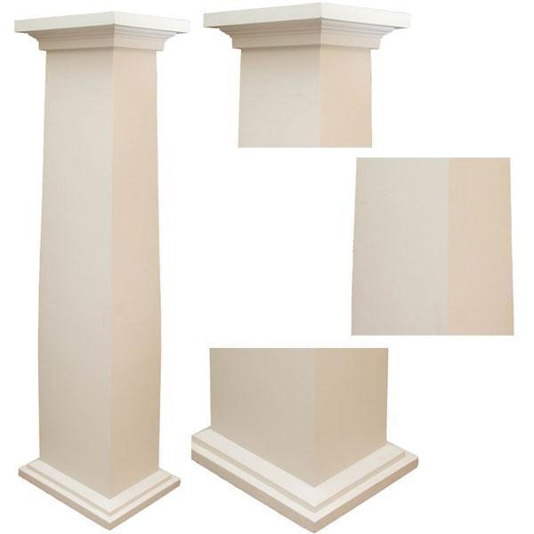 Decorative Doric style square ....