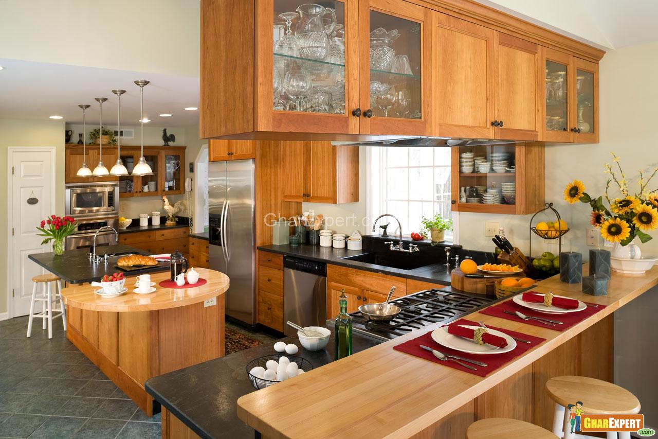 Modern Style Wooden Kitchen