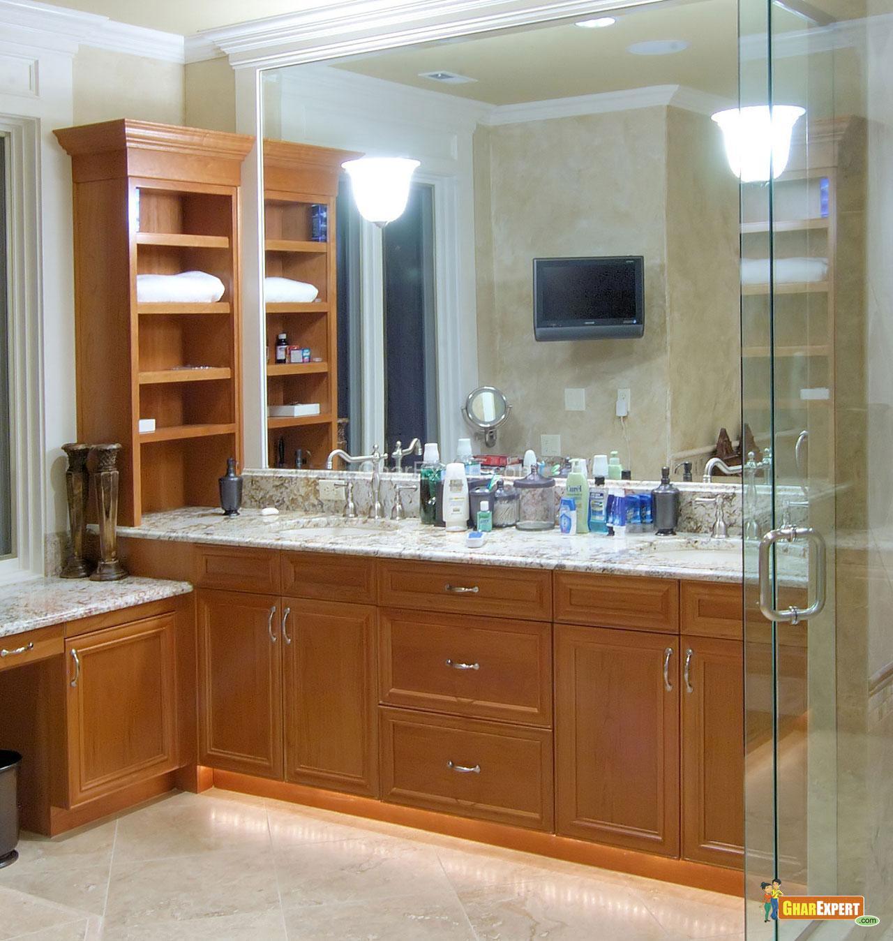 Bathroom Cabinet and Mirror