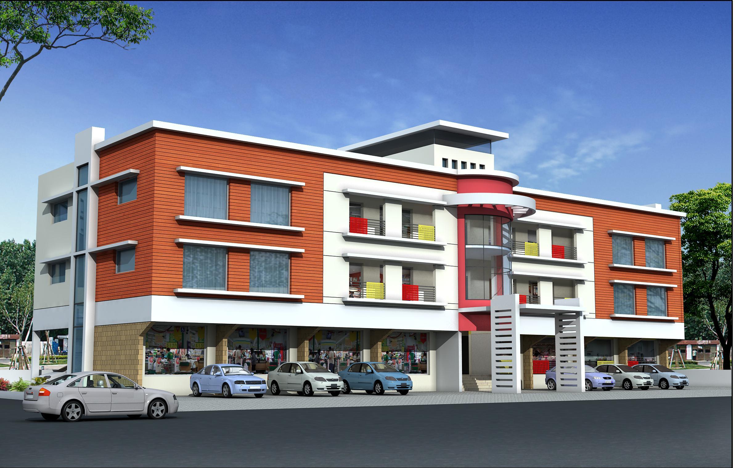 Interesting Apartment Building Design In Designjpg With Decor