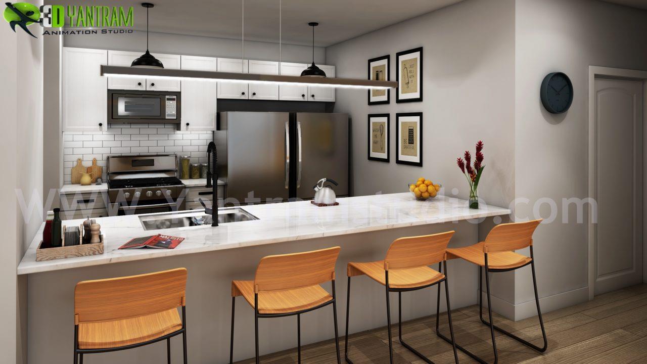 Creative Modern Style Kitchen ....