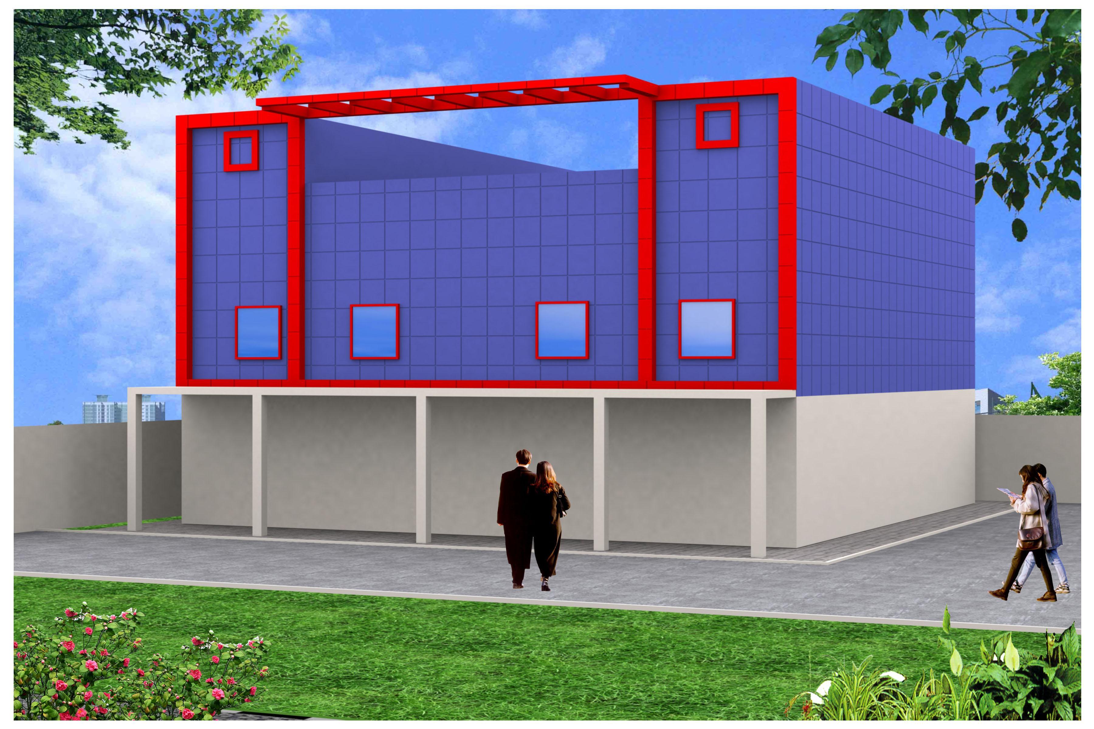 Front Elevation Of Showroom : Elevation showroom joy studio design gallery best