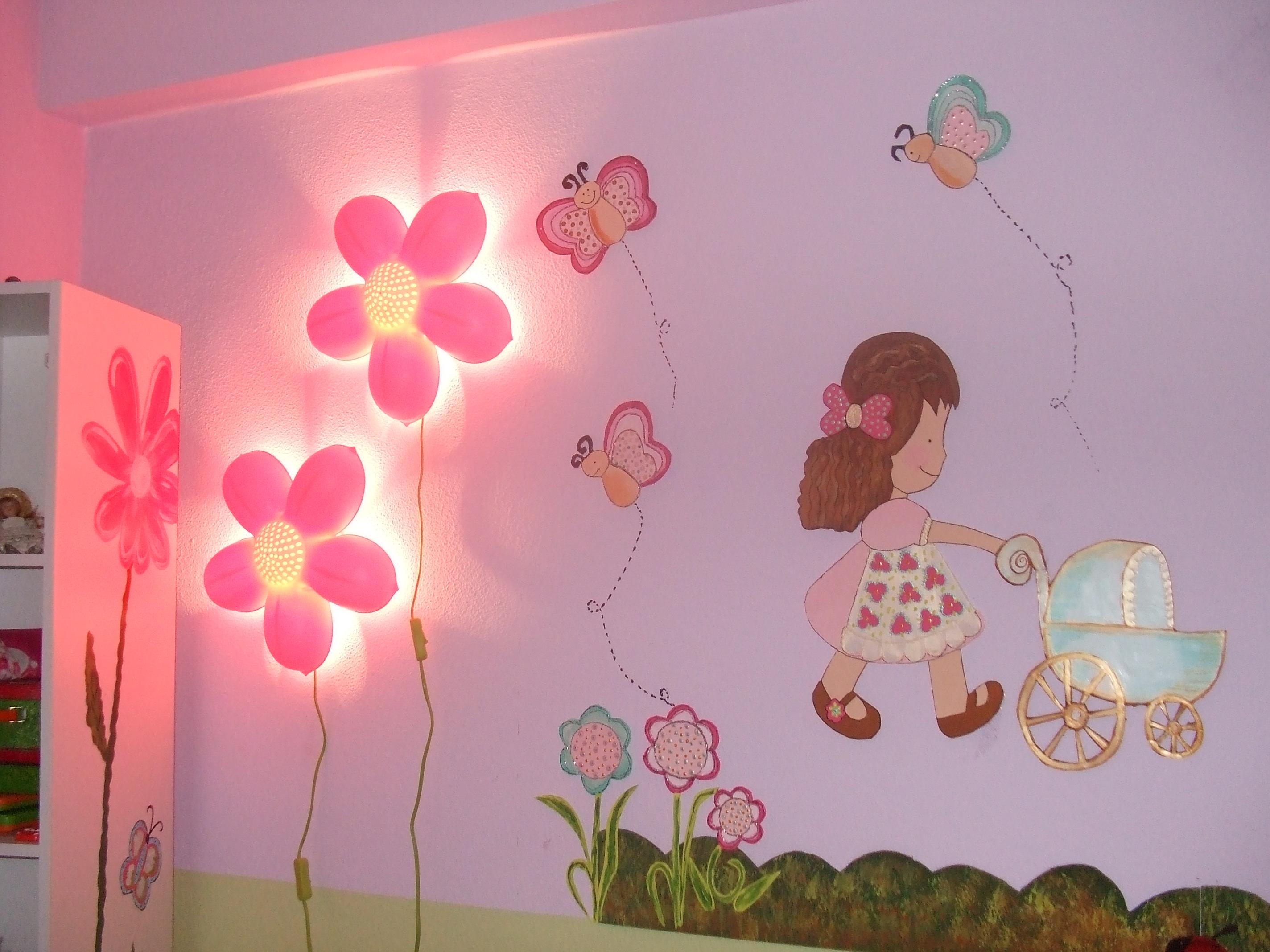 Kids room wall art gharexpert Kids room wall painting design