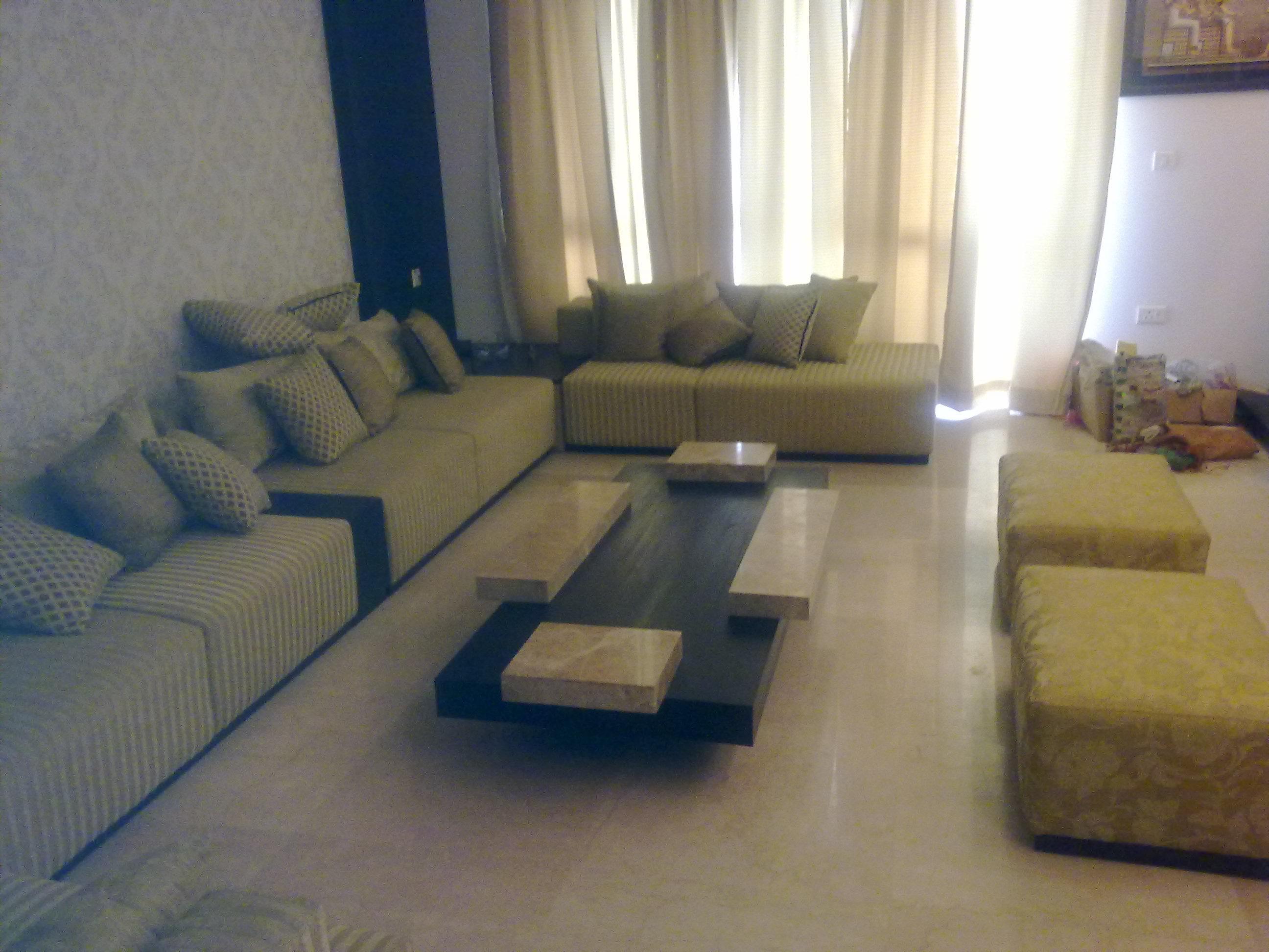 Luxury living area.