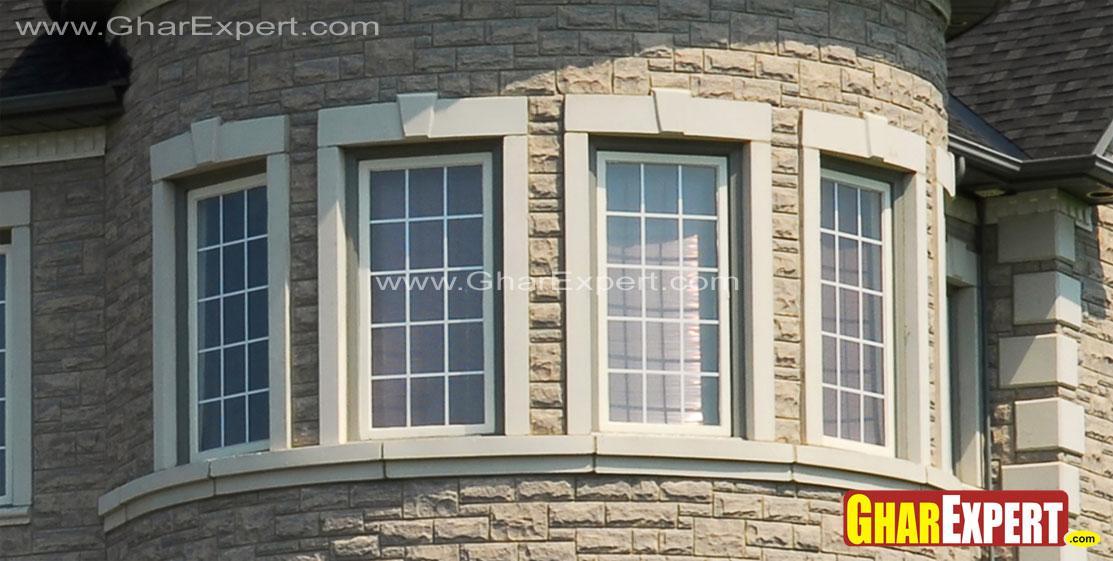 Cirular Stairs Mumty Windows Style Gharexpert