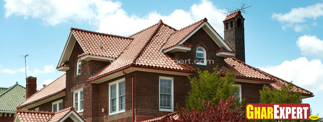 asphalt shingle roof for gable....