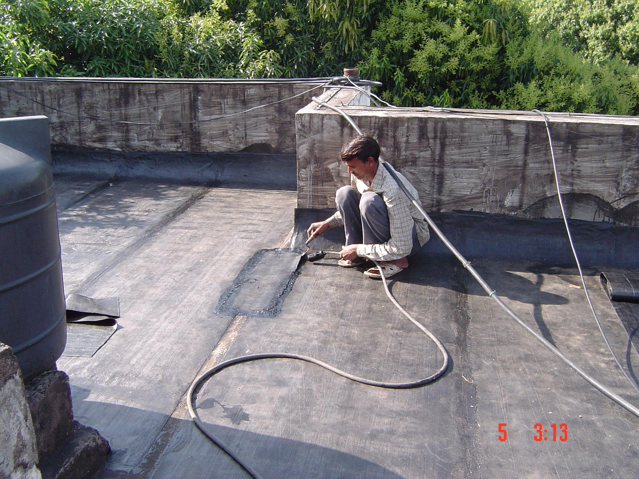 waterproofing work