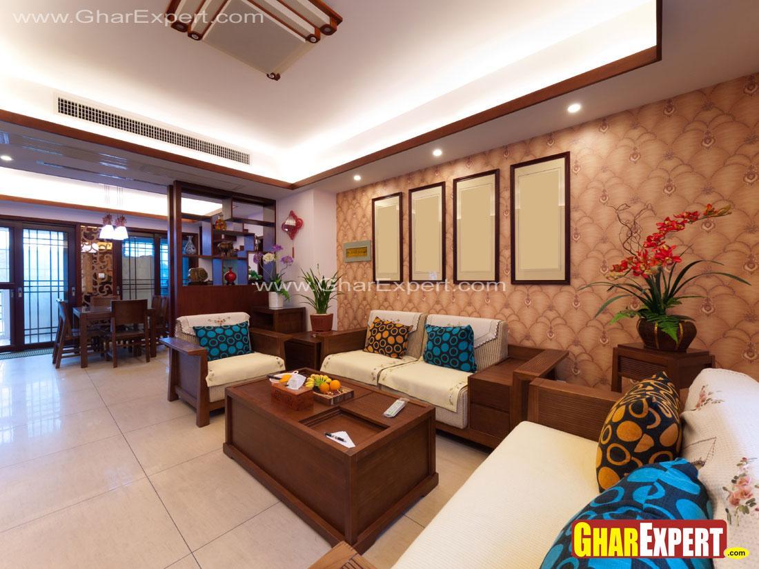 Drawing room designer wooden s....