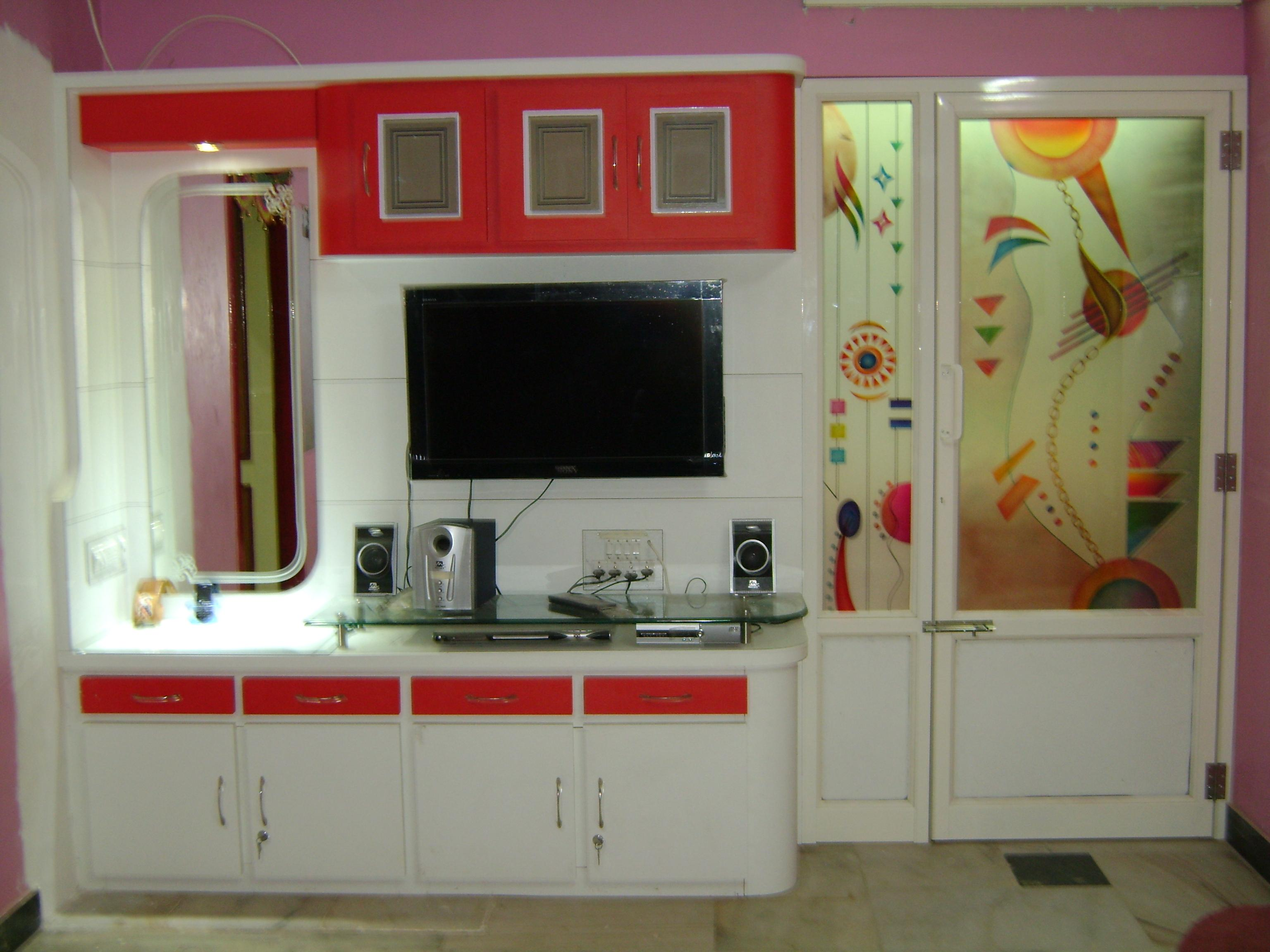 Tv Unit And Wall Decoration Gharexpert