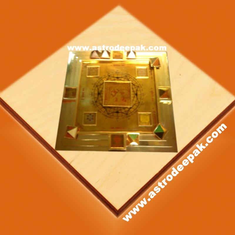 Gold Vedic Vastu Pyramid: Pyramid Protection, Beneficial Energy ...