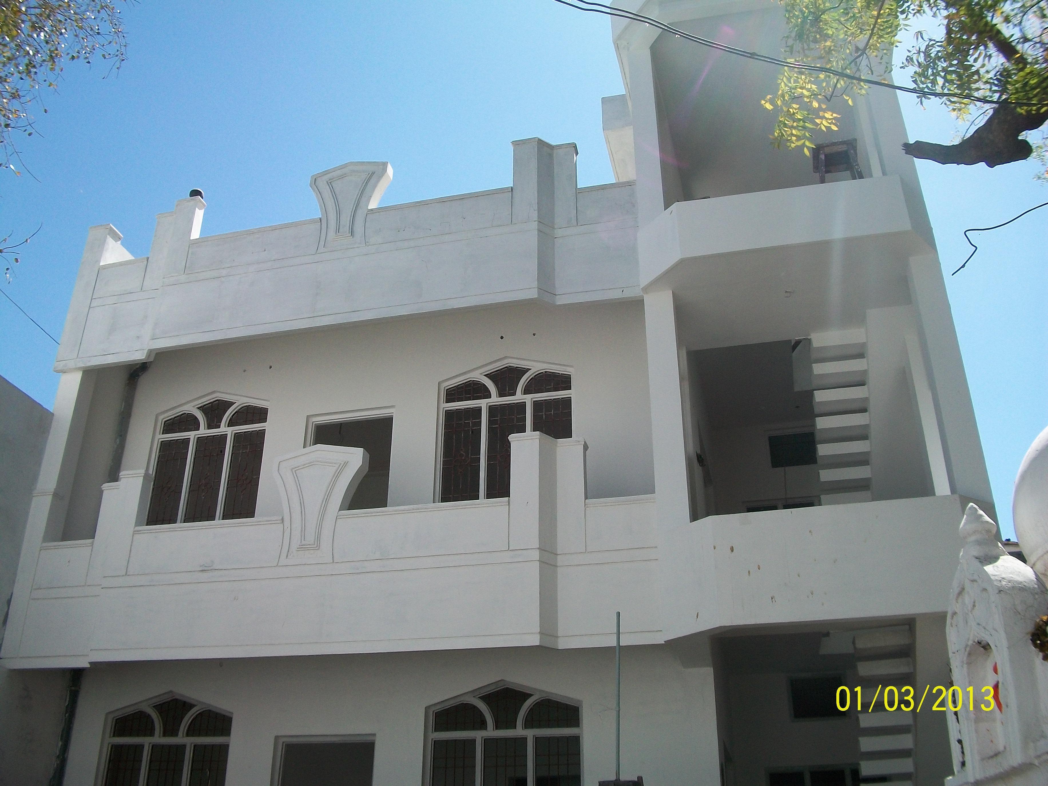 A Duplex house 3BHK. ON PLOT 9....
