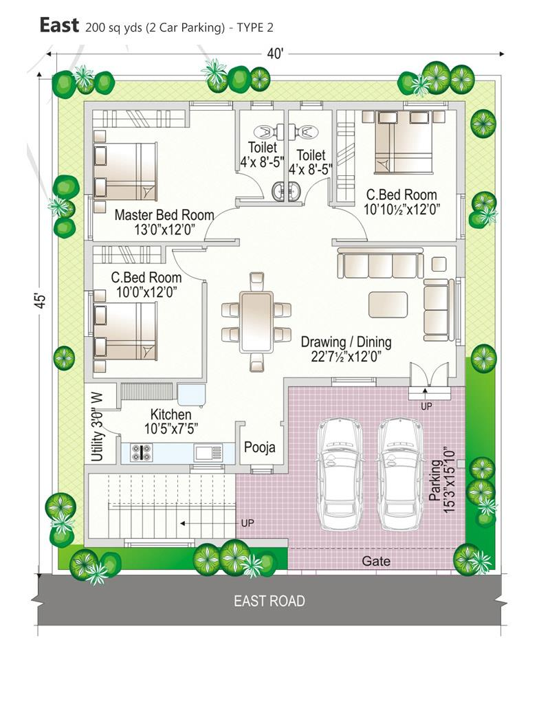Navya homes beeramguda hyderabad residential property for 120 yard house map