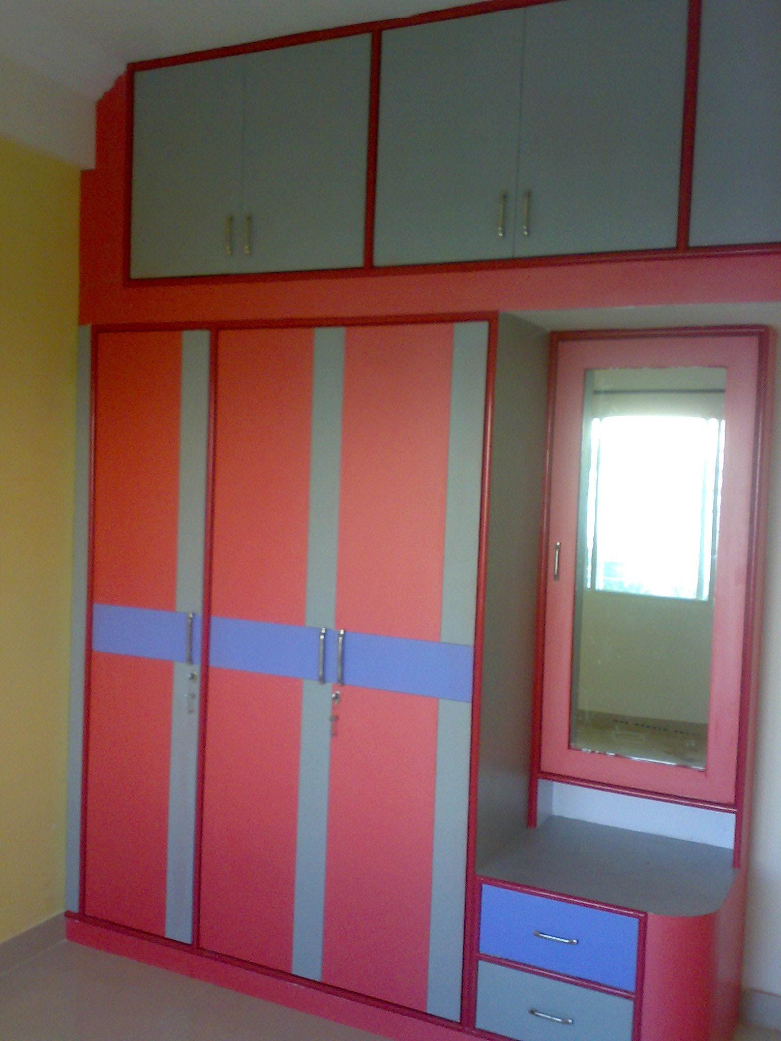 Bedroom wardrobe design gharexpert Design wardrobe for bedroom
