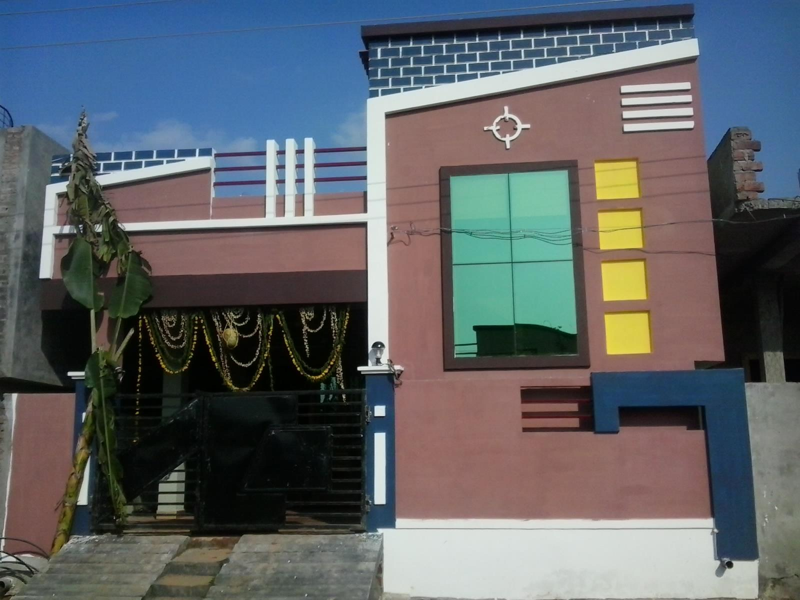 Front Elevation Single Floor House : Beautiful elevation for single floor home gharexpert