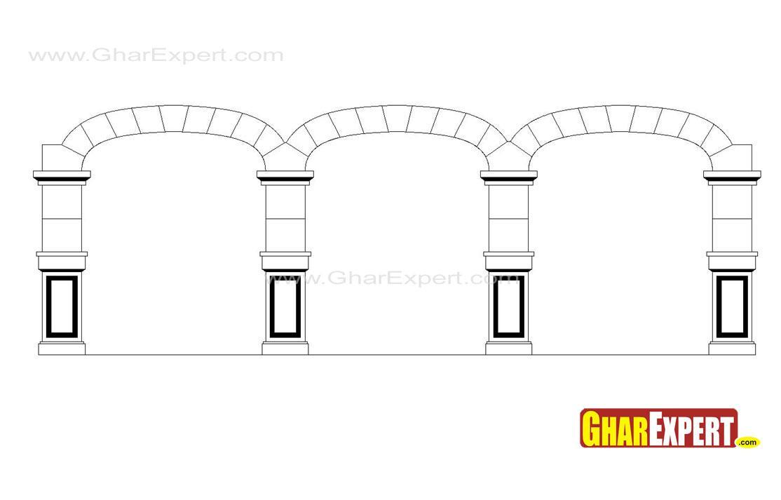 Blind Arcade Architecture