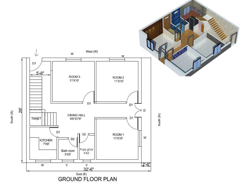 House Plan for 32
