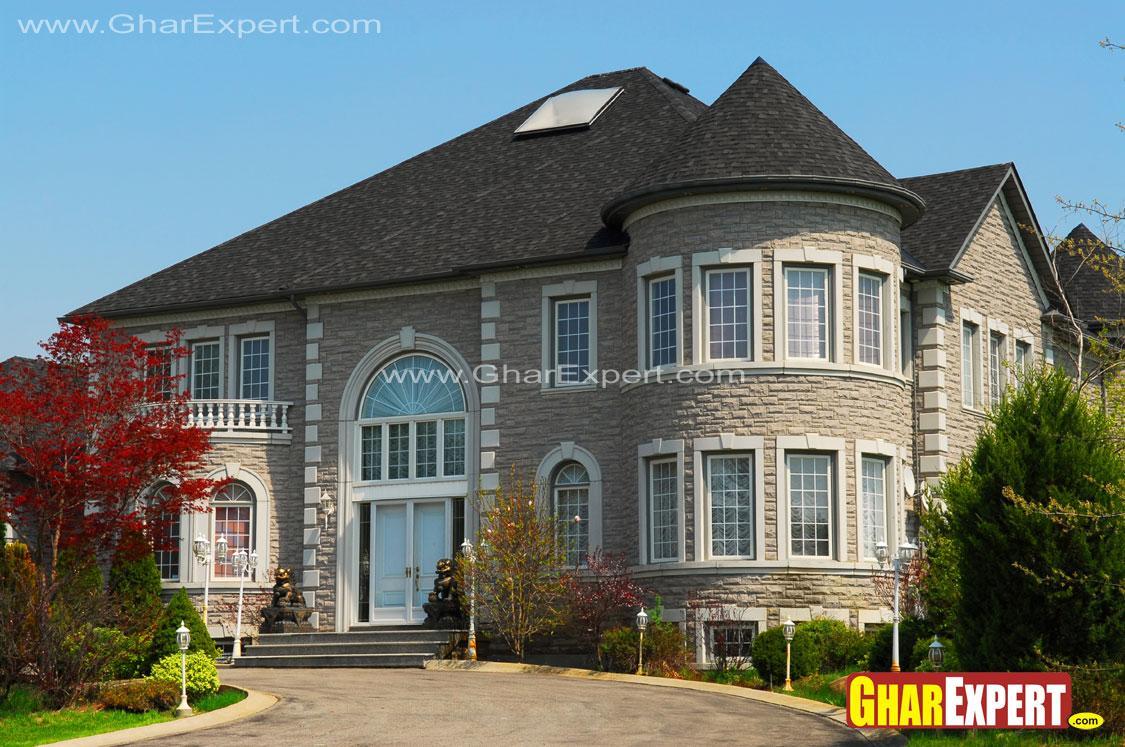 Disney style exterior elevatio....