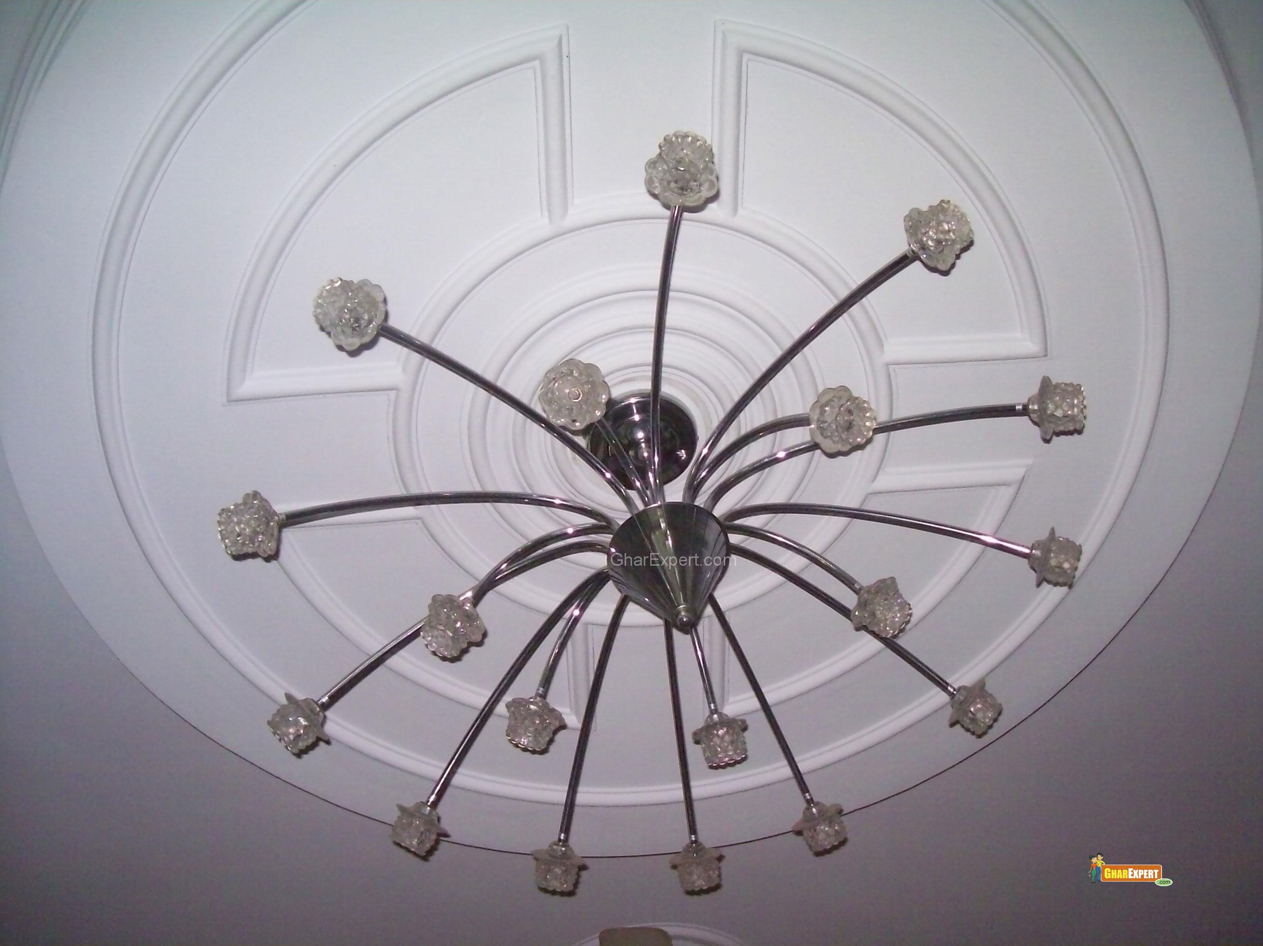 Auspicious circular ceiling.