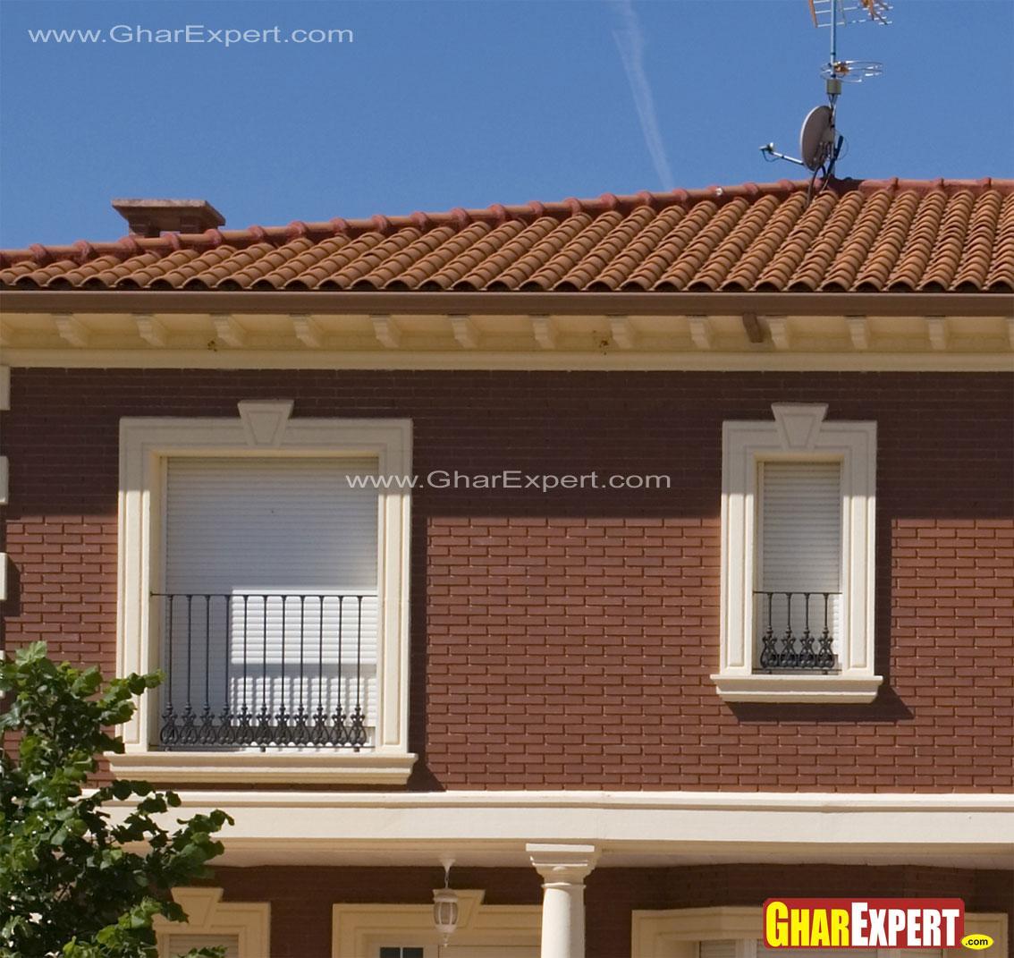 Juliet Balcony with iron raili....