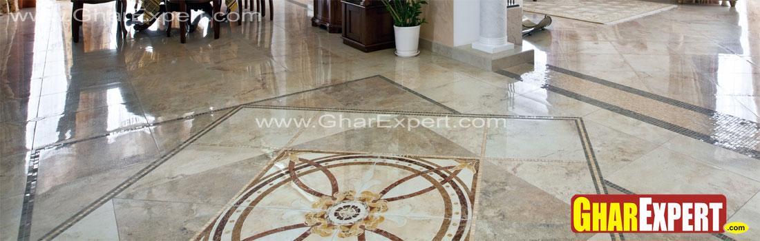 medallion marble flooring in l....