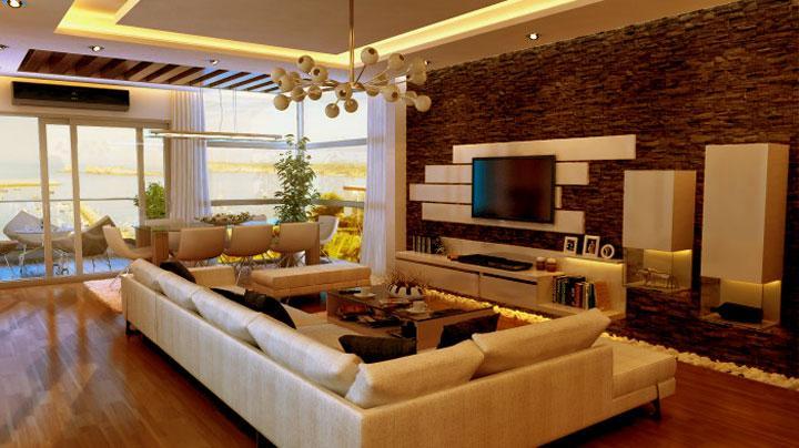 tv wall unit stone cladded GharExpert : 292013114354 from www.gharexpert.com size 720 x 404 jpeg 53kB