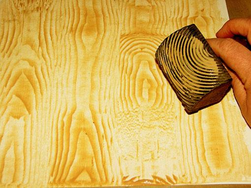 faux paint wood grain texture ....