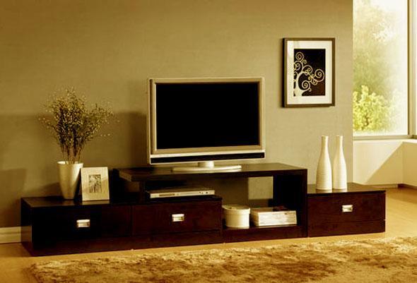 modern design flat tv stand in....