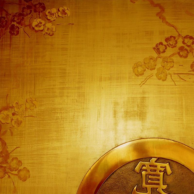 paint texture blend of golden ....