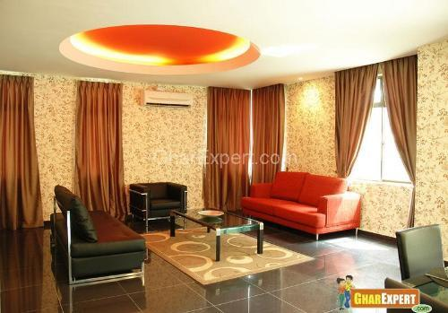 Modern Decoration with Curtain....