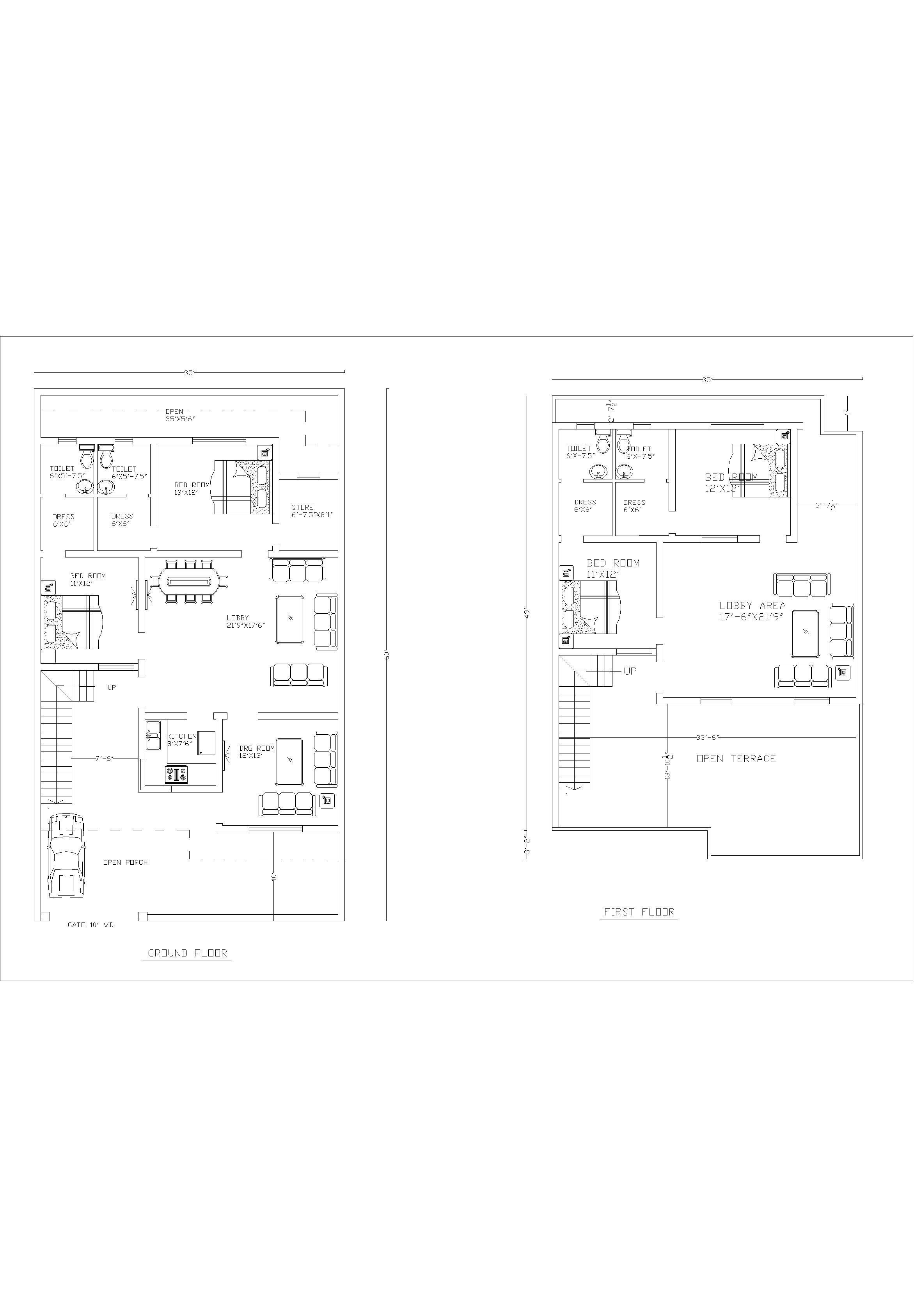 site plan :  35