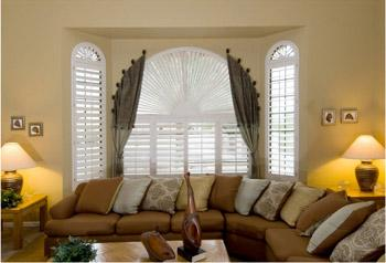 arched window dressing