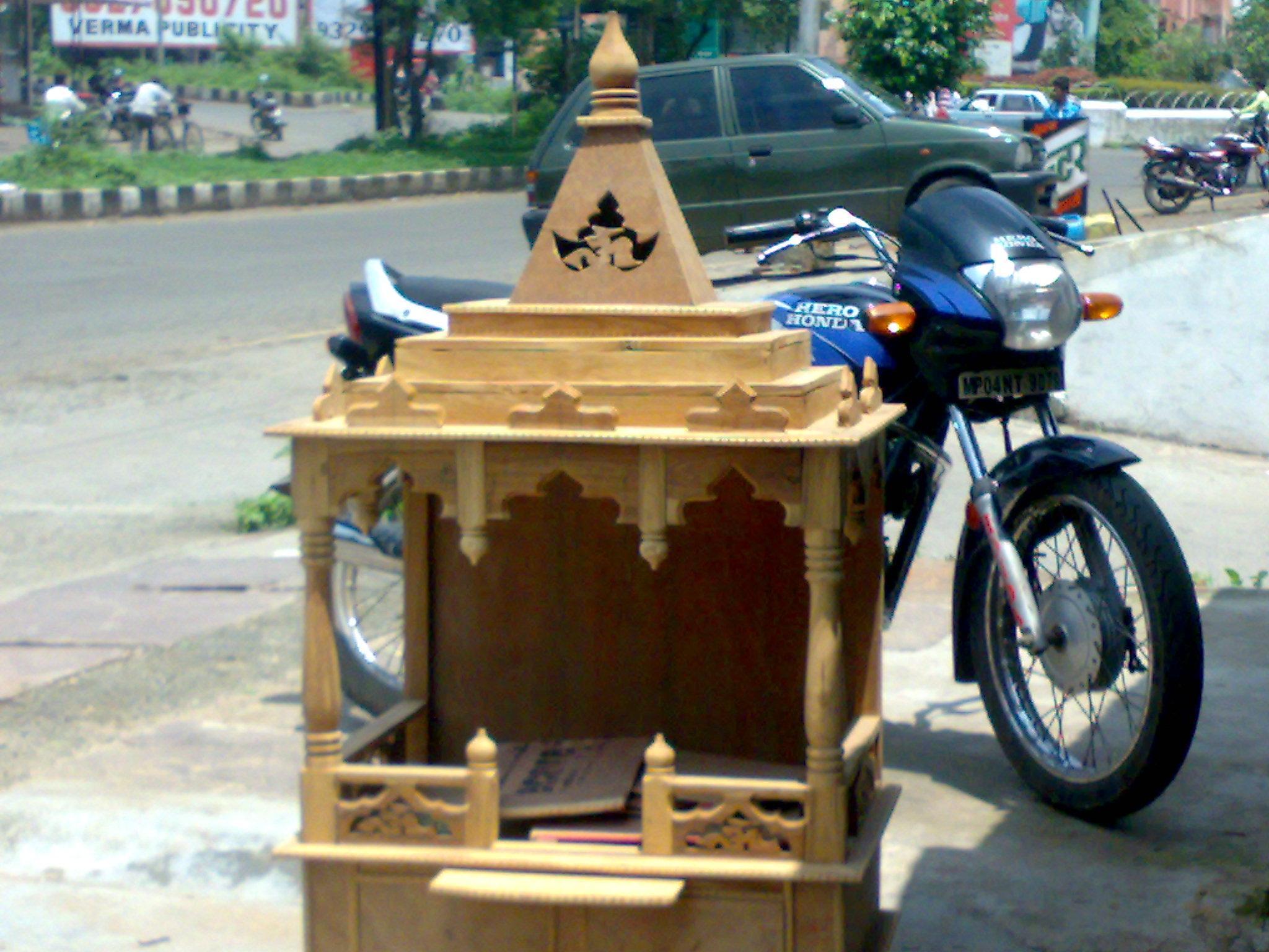 Wooden Temple Design