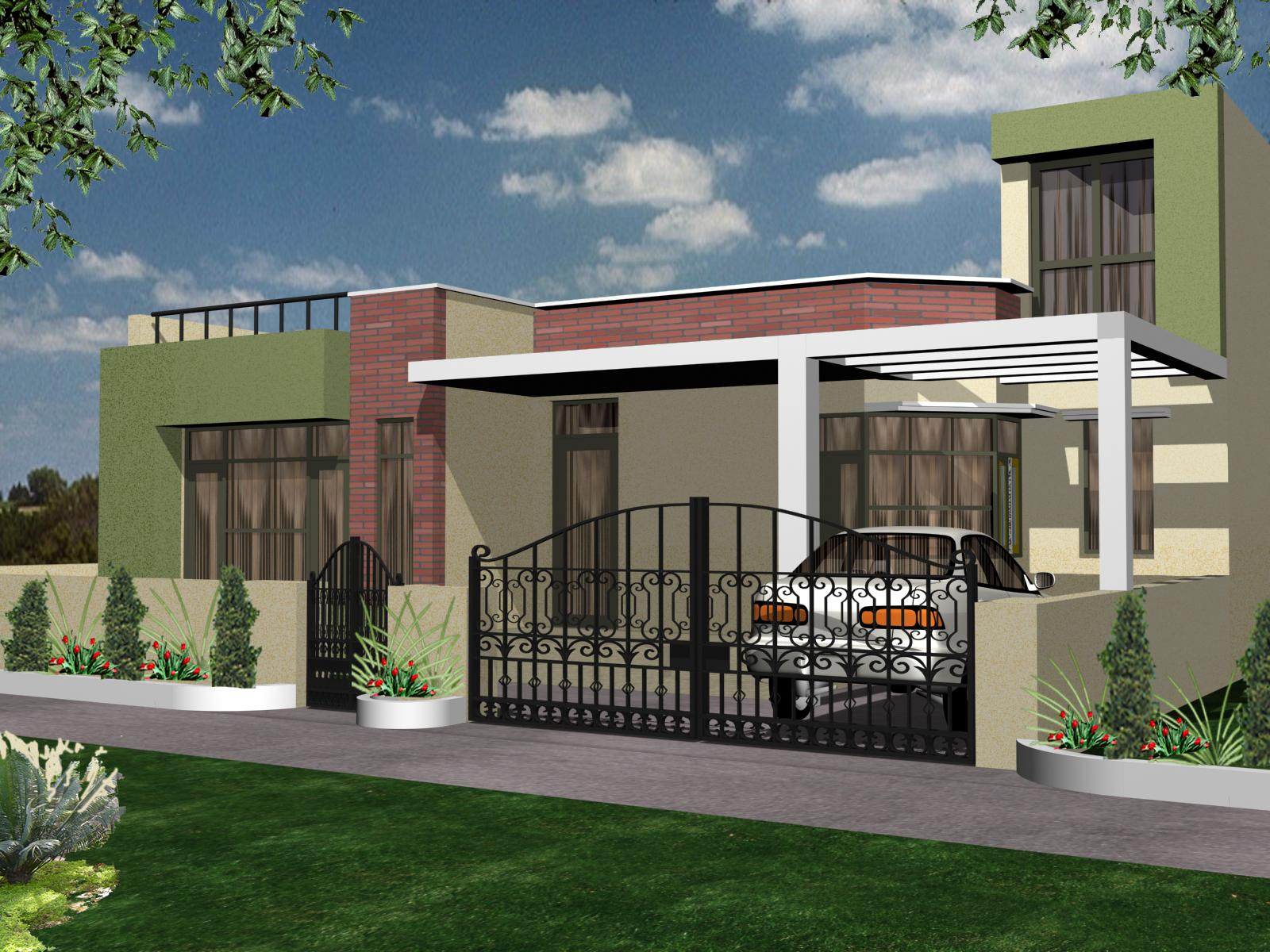 House exterior design gharexpert for Exterior design pictures