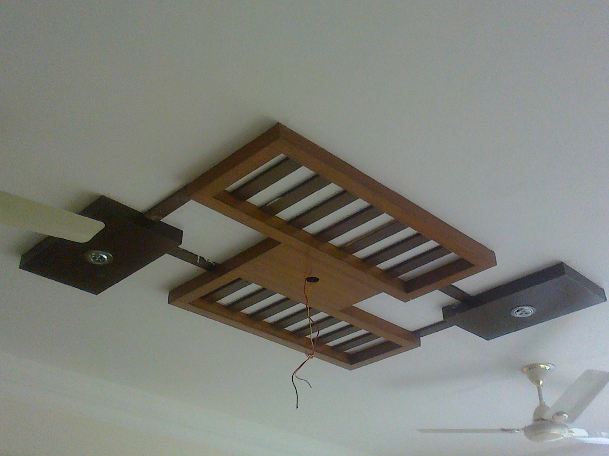 Wooden False Ceiling For Drawing Room Gharexpert