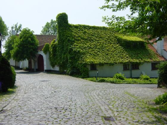 Turf House Side View