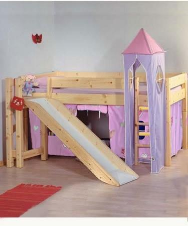 Princess Bunk Bed With Slide GharExpert