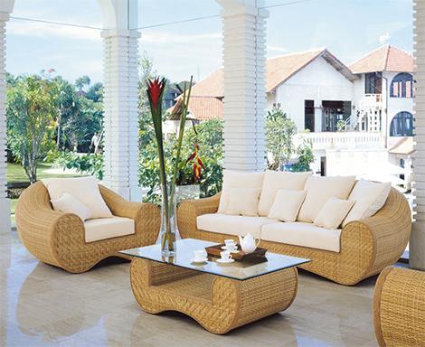beautiful cane furniture